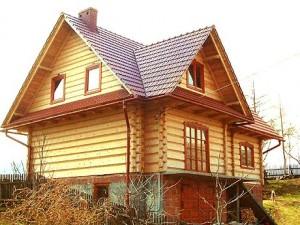 dom z drewna Juhas 3