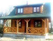 Dom drewniany z bali - GÓR-DOM.pl